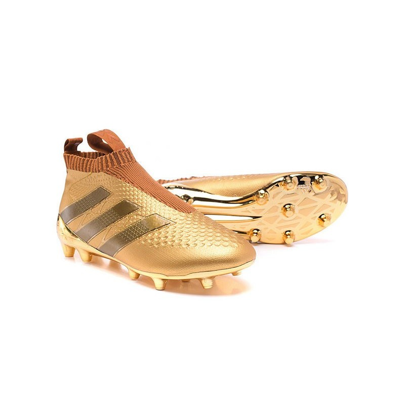 b62107eaae55 ... football shoes by9143 40 71238 c3a75  usa new 2016 adidas ace16  purecontrol fg soccer boots golden black 1079c c4ab7