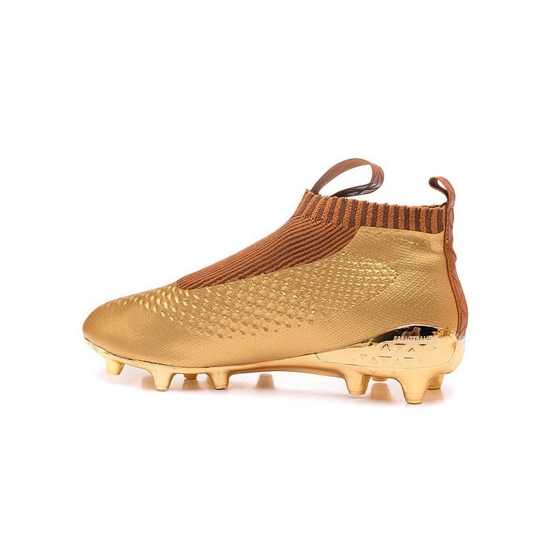 online store 4cdf3 3219e New 2016 adidas Ace16+ Purecontrol FG Soccer Boots Golden Bl