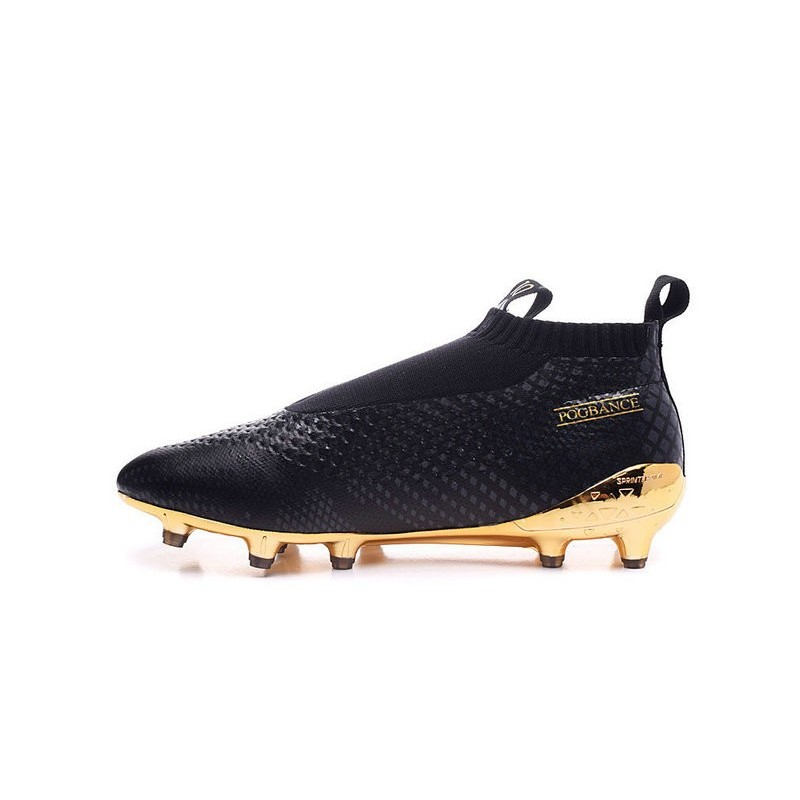 the best attitude 3df3e cf2a4 Paul Pogba New 2016 adidas Ace16+ Purecontrol FG Soccer Boots Black Gold