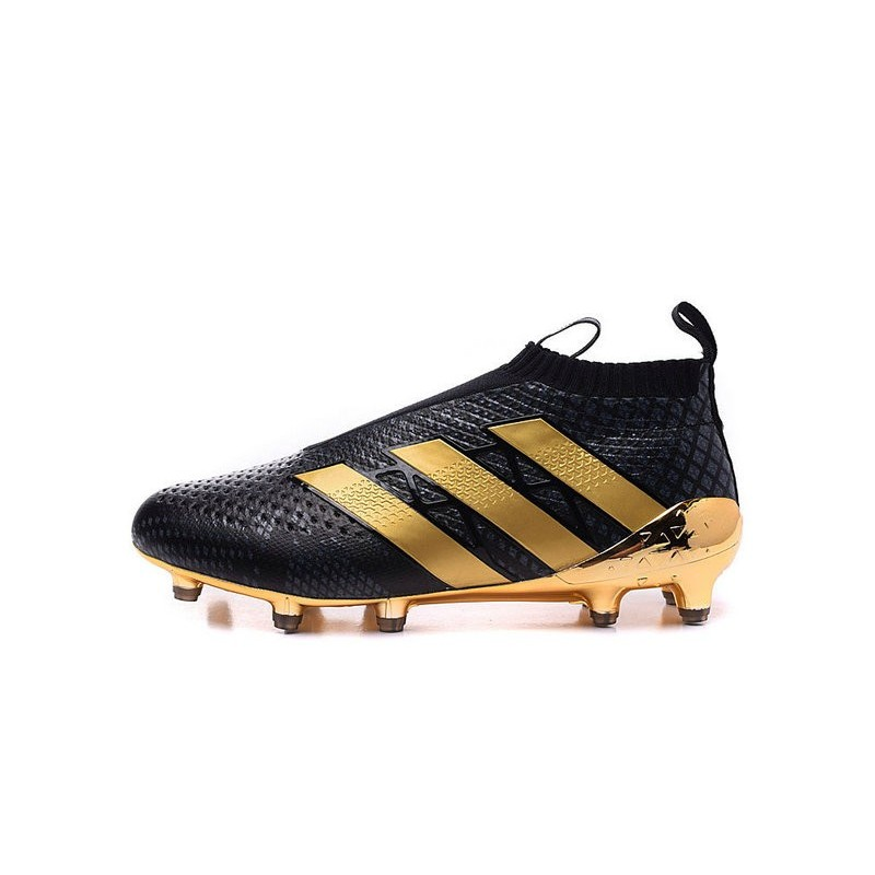 pretty nice 20f43 98fc0 Paul Pogba New 2016 adidas Ace16+ Purecontrol FG Soccer Boots Black Gold  Maximize. Previous. Next