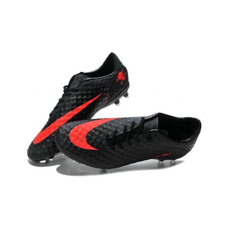 Hypervenom Phantom Fg Boots Charcoal Crimson Orange Schwarz