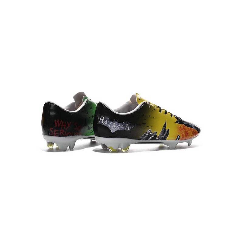 Nike New 2016 Mercurial Vapor 10 FG ACC Cleat Batman & Clown