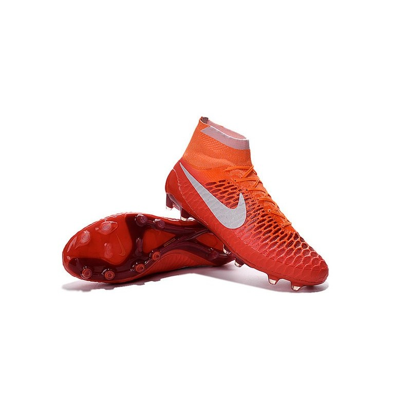 Top Football Boots 2016 Nike Magista Obra FG Red White