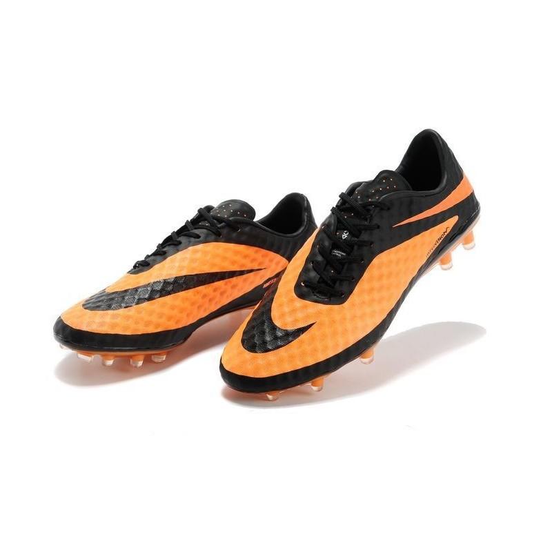 Nike HyperVenom Phantom FG Men's Firm Ground Soccer Boots Orange Black