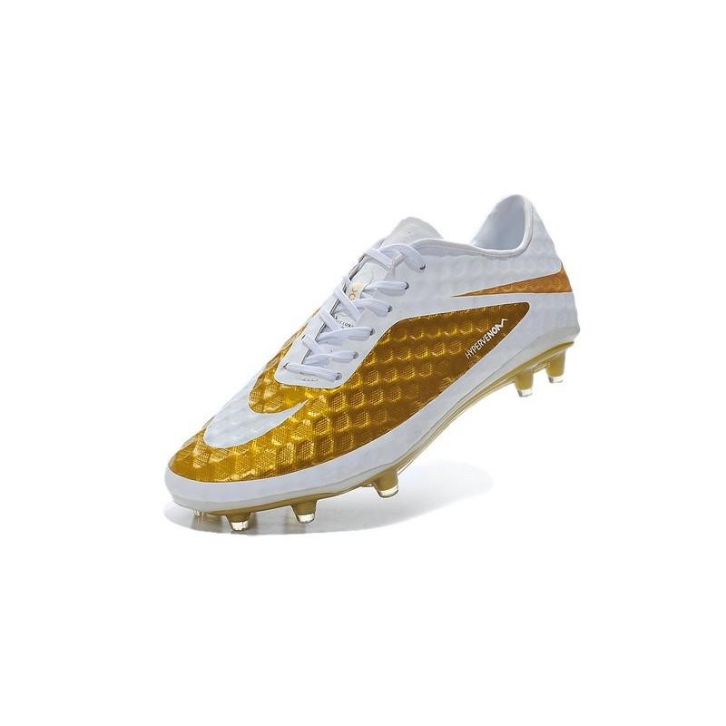 Nike HyperVenom Phantom FG Neymar Golden White