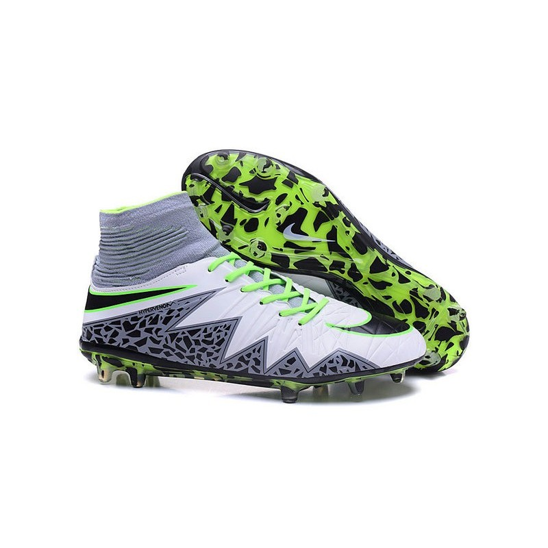 87e89cac8 Nike Hypervenom Phantom 2 FG ACC 2016 Soccer Shoes White Green Black  Maximize. Previous. Next