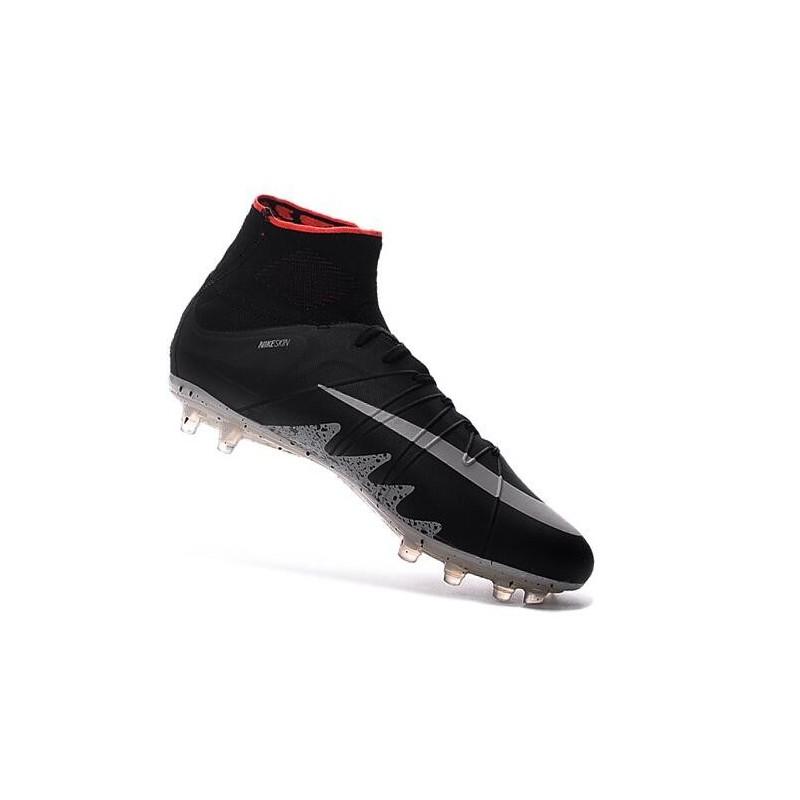 Football Cleats Nike Hypervenom Phantom II FG Neymar Jordan Black White