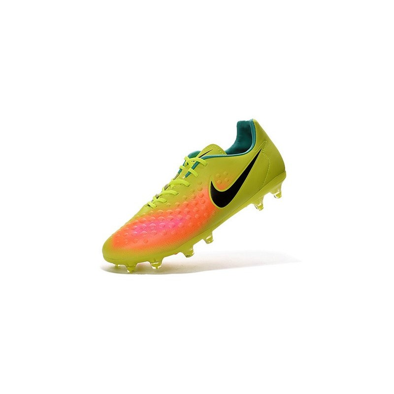 Nike 2016 Magista Opus II FG ACC Football Boots Volt Orange Black