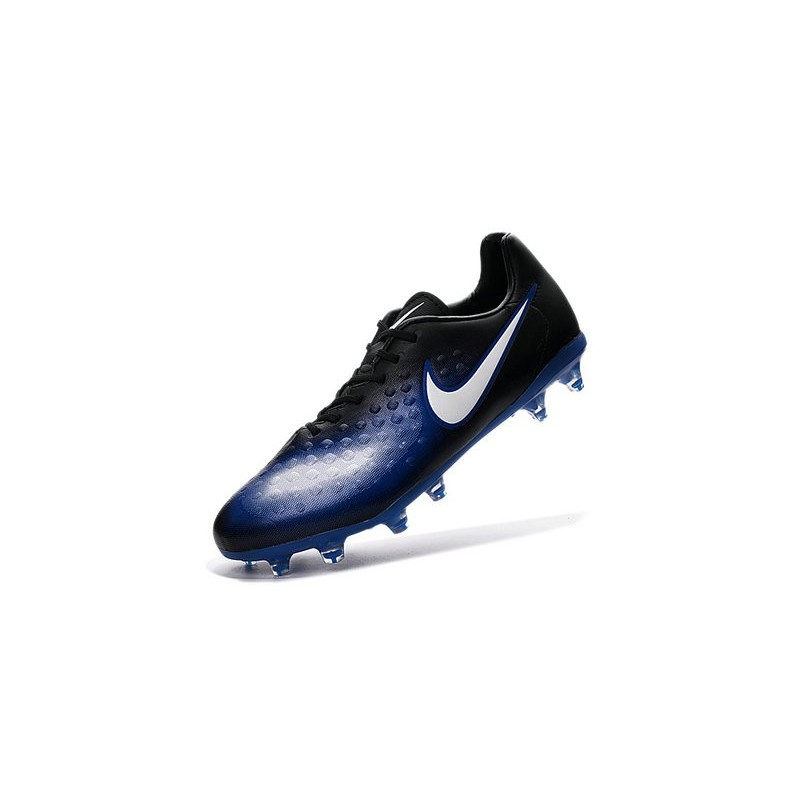 Nike 2016 Magista Opus II FG ACC Football Boots Blue Black White