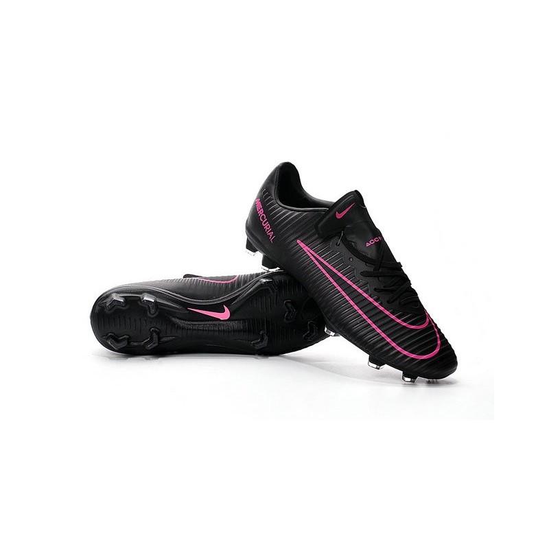 Nike Mercurial Vapor XI FG Firm Ground Soccer Shoes Black Pink Blast