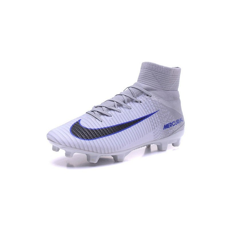 New Nike 2016 Mercurial Superfly 5 FG ACC Boots White Black