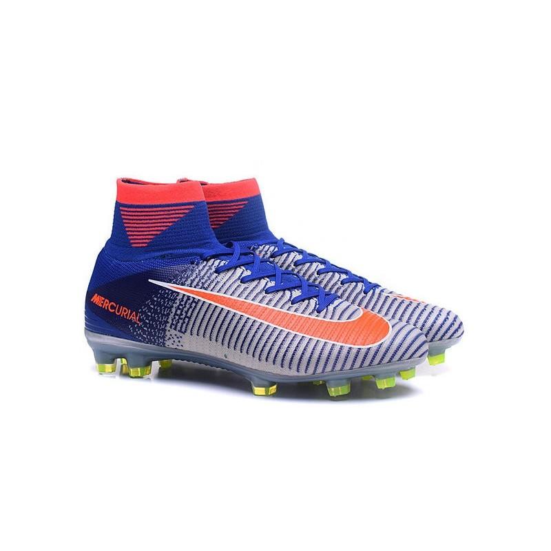 ea3c3bf5106d New Spark Brilliance Nike Olympics 2016 Mercurial Superfly 5 FG White Blue  Orange