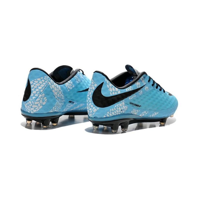 Nike HyperVenom Phantom FG Men's Firm Ground Soccer Boots Reflective Blue Black