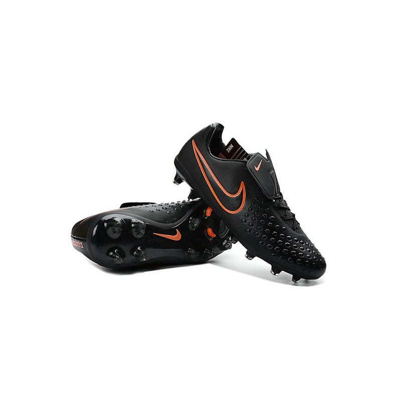 News Men Nike Magista Opus II FG Soccer Shoes Black Crimson
