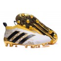 adidas Stellar Pack Ace16+ Purecontrol FG Soccer Cleat White Gold