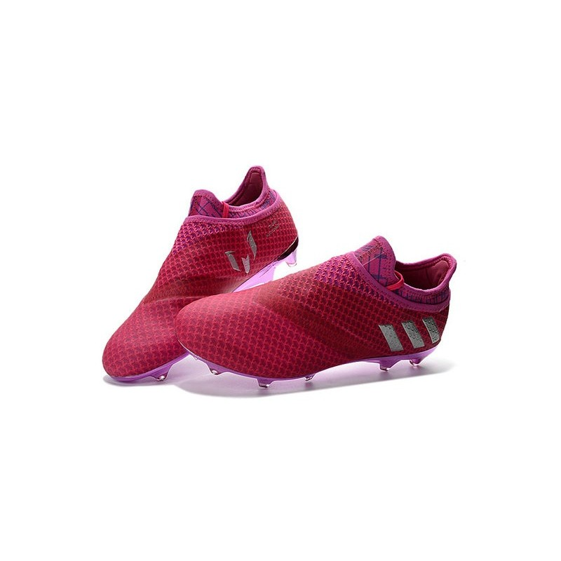 a9f6ce83a70 adidas Messi 16+ Pureagility FG Soccer Cleats Red Silver Maximize.  Previous. Next