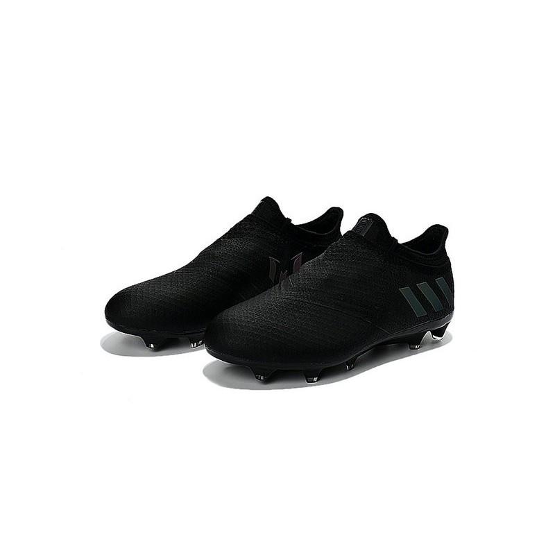 adidas messi 16 pureagility fg soccer cleats all black