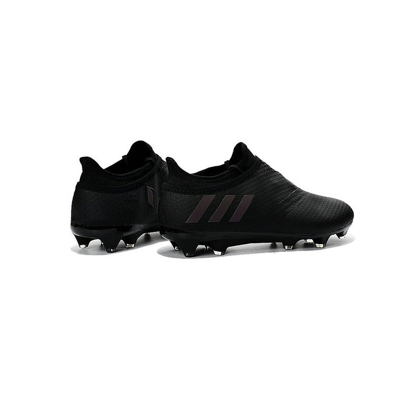 Adidas Messi 16 Pureagility Fg Soccer Cleats All Black