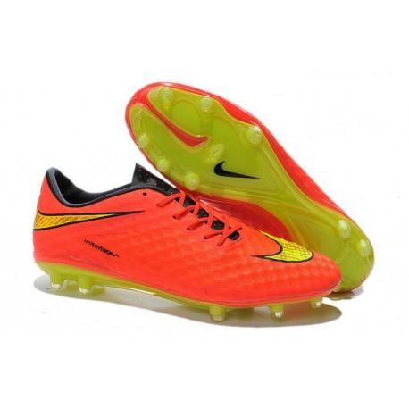 Neymar s Nike HyperVenom Phantom FG ACC Cleats Hyper Punch Gold 9c0e8cd9e38c3