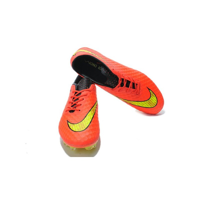 Neymar's Nike HyperVenom Phantom FG ACC Cleats Hyper Punch Gold