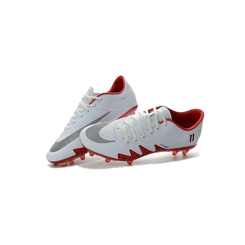 Nike Hypervenom Phinish Neymar x Jordan Soccer Boots White Red