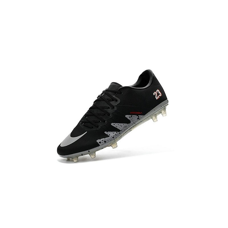 Nike Hypervenom Phinish Neymar x Jordan Football Cleat Black Silver