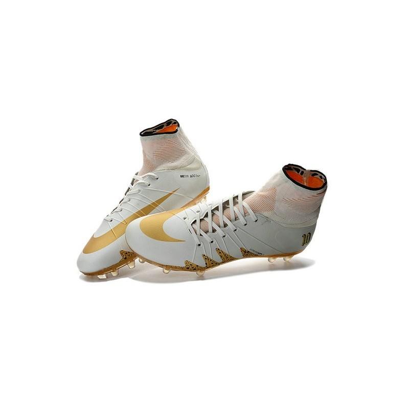 Nike Hypervenom Phantom Neymar x Jordan 2016-2017 NJR Boots White Gold