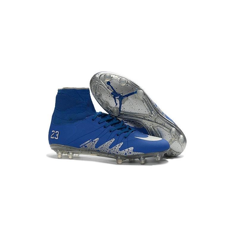Nike Hypervenom Phantom Neymar x Jordan 2016-2017 NJR Boots Blue Silver