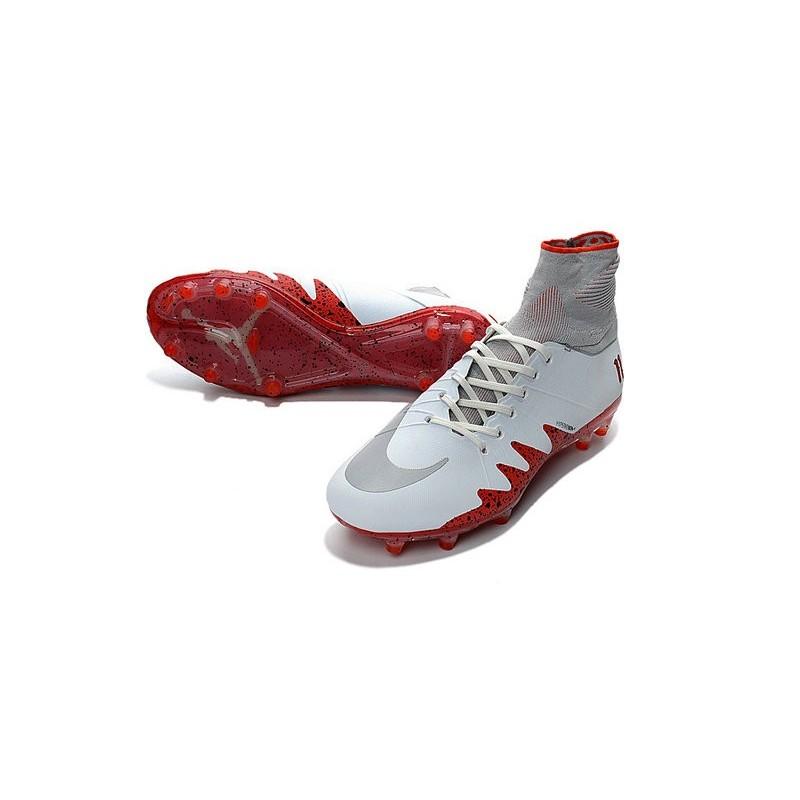 Nike Hypervenom Phantom Neymar x Jordan 2016-2017 NJR Boots White Red