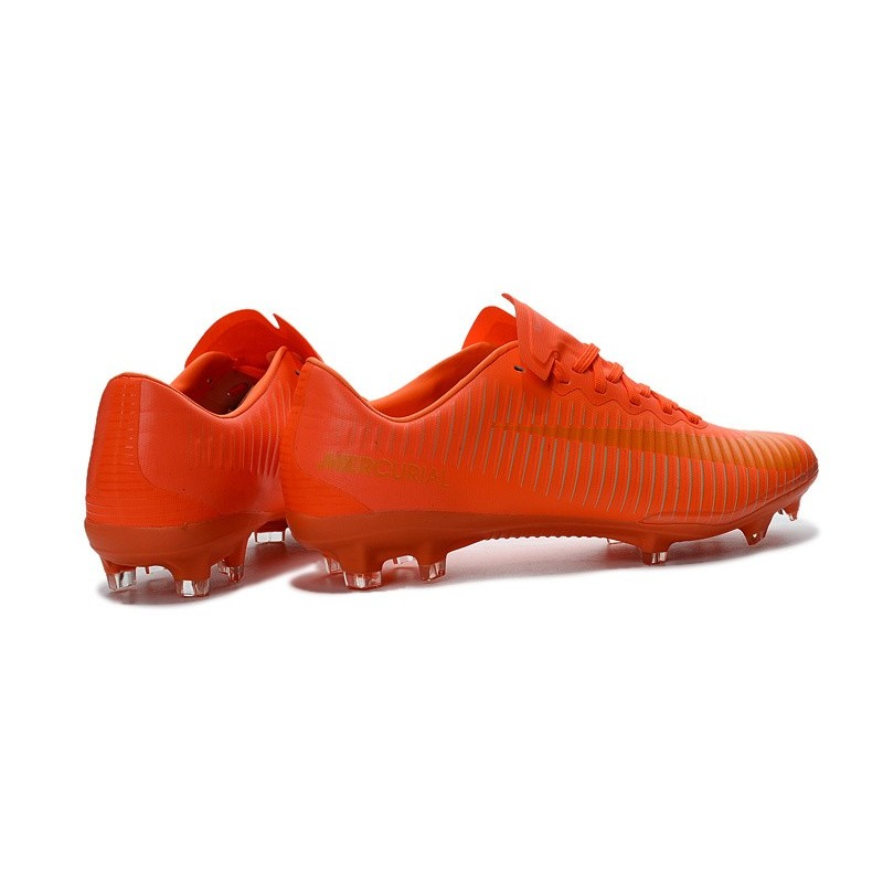 Nike Mercurial Vapor XI FG Firm Ground Soccer Shoes Orange