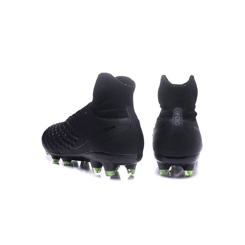 New Nike Magista Obra II FG ACC Soccer Cleats All Black