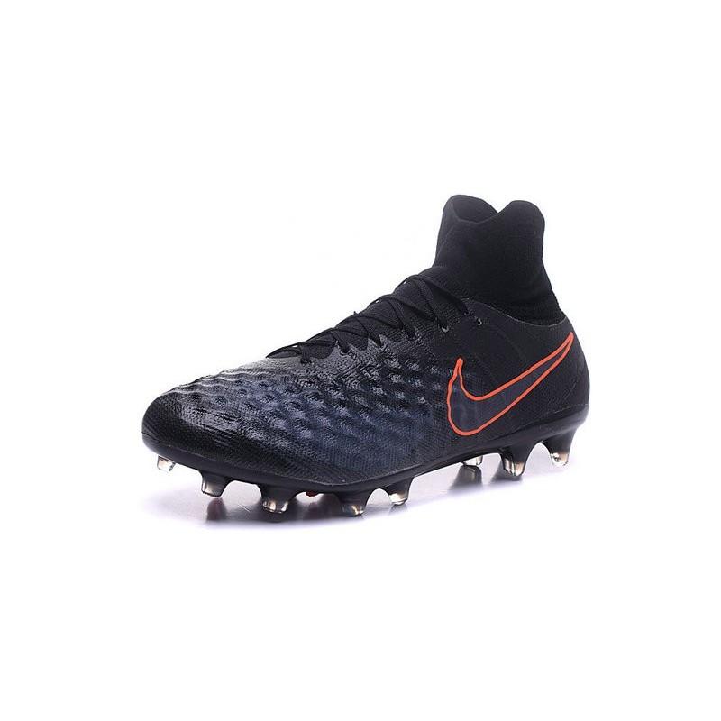 New Nike Magista Obra II FG ACC Soccer Cleats Black Orange