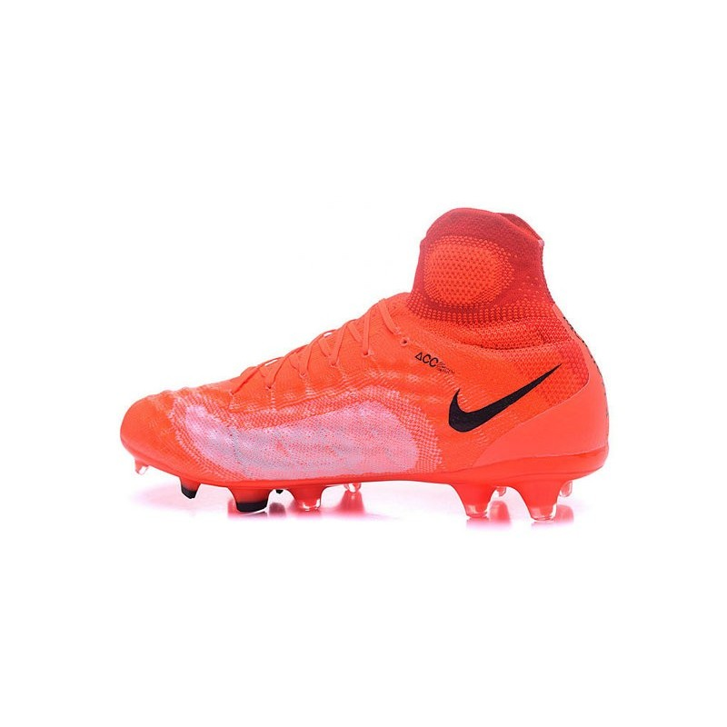 15c23f7ef2f1 New Nike Magista Obra II FG ACC Soccer Cleats Orange Black Maximize.  Previous. Next