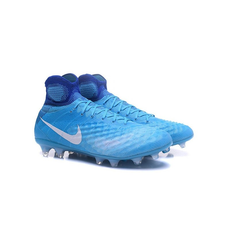 New Nike Magista Obra II FG ACC Football Shoes Blue