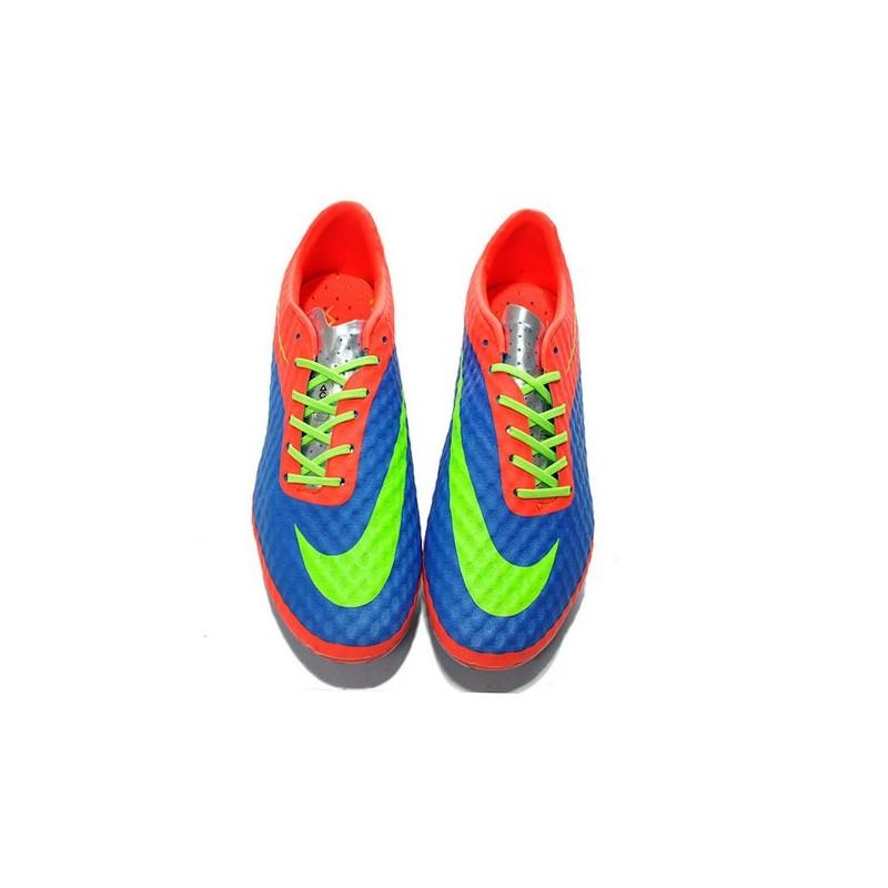 Neymar's Nike HyperVenom Phantom FG ACC Cleats Purple Crimson Green