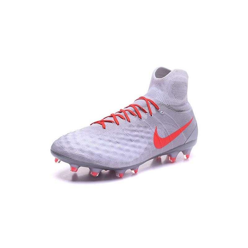 Nike Magista Obra 2 FG Mens Top Football Shoes White Orange