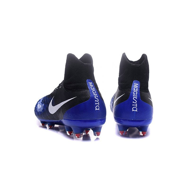 Nike Magista Obra 2 FG Mens Top Football Shoes Black Purple White