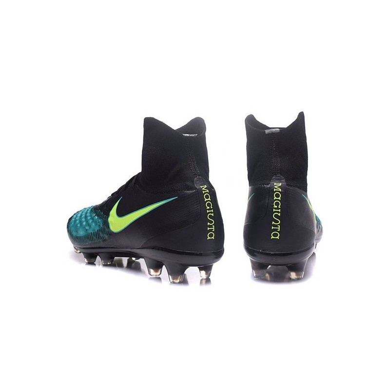 Nike Magista Obra II FG Firm Ground Soccer Cleat Black Blue