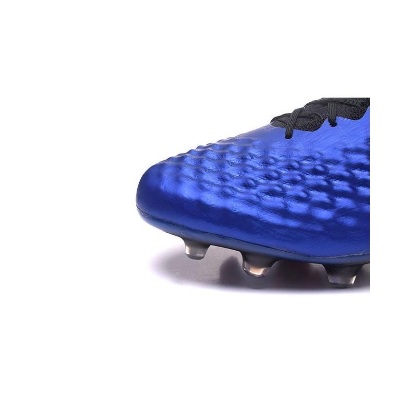 Nike Magista Obra II FG Firm Ground Soccer Cleat Royal Blue Black
