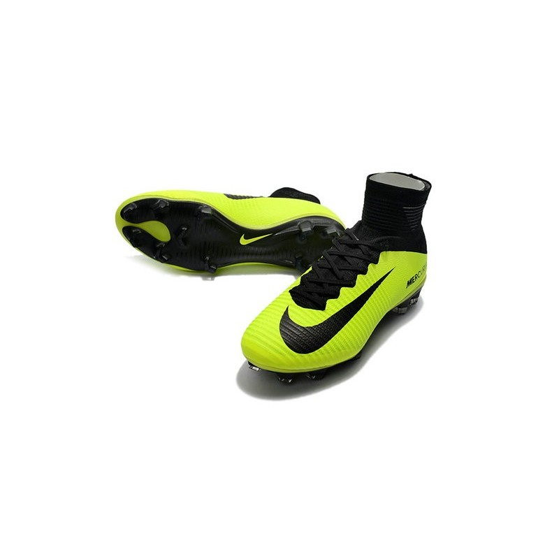Nike Mercurial Superfly V FG Soccer Boot Volt Black