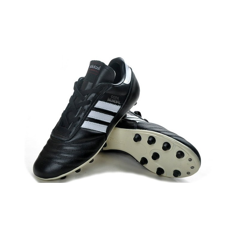 promo code 12e3f c886f adidas Copa Mundial FG K-Leather Football Shoes in Black Maximize.  Previous. Next