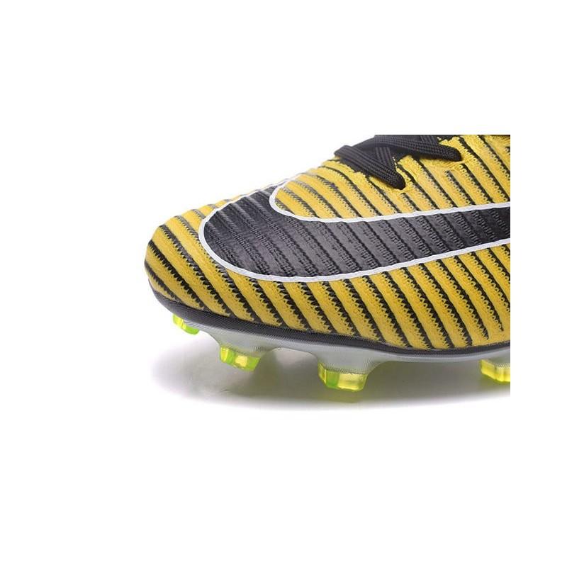Nike Mercurial Superfly V FG Soccer Boot Yellow Black