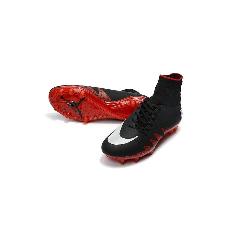Nike Hypervenom Phantom 2 New Soccer Cleats Neymar Jordan NJR Black Red