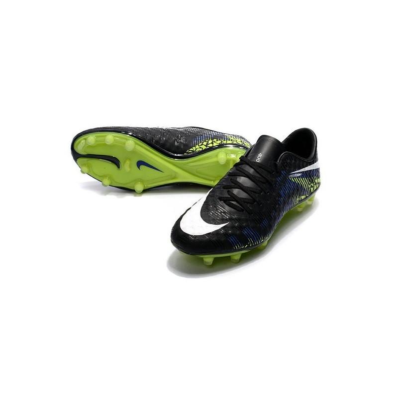 Nike Hypervenom Phinish FG ACC New 2017 Soccer Cleats Black Green