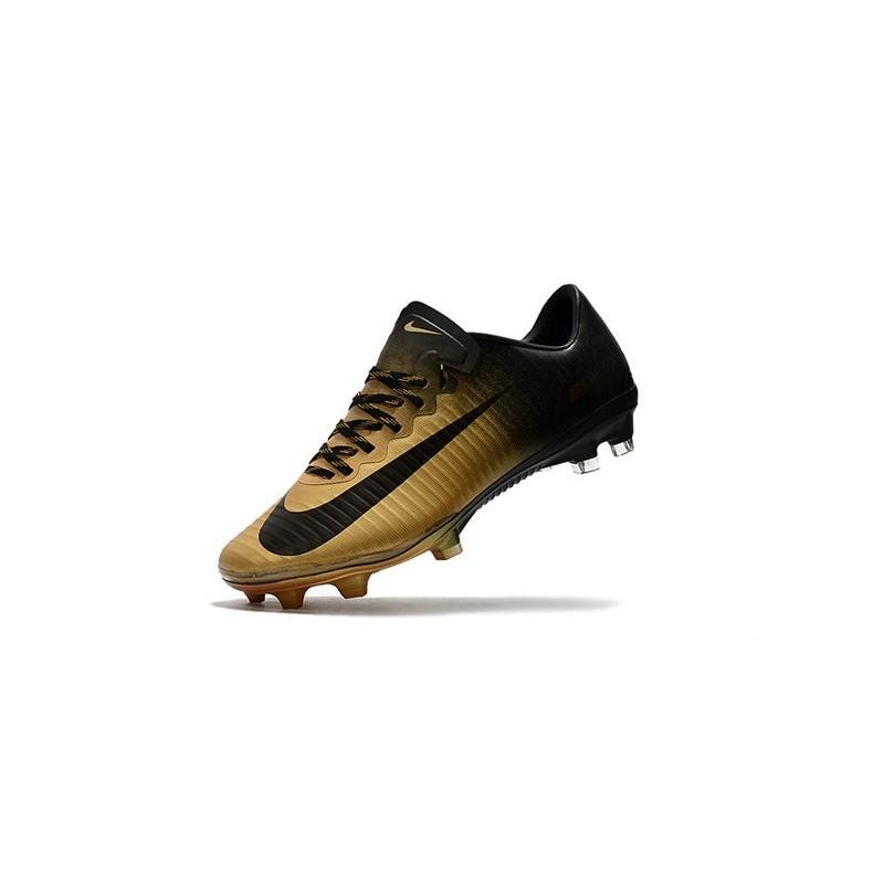 New Ronaldo Nike Mercurial Vapor XI FG Soccer Cleats Golden Black Maximize.  Previous. Next