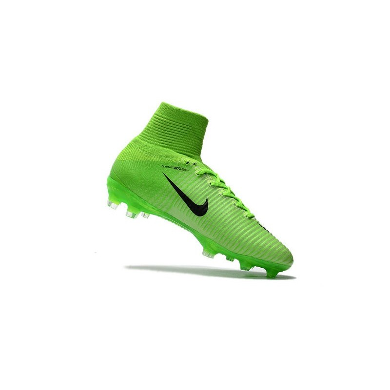 Nike News Mercurial Superfly 5 FG ACC Soccer Cleat Green Black Maximize.  Previous. Next