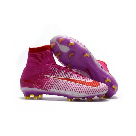 Nike News Mercurial Superfly 5 FG ACC Soccer Cleat Pink Red White