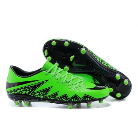 on sale b2001 26cb5 New 2015 Nike Hypervenom Phinish II FG ACC Shoes Green Black