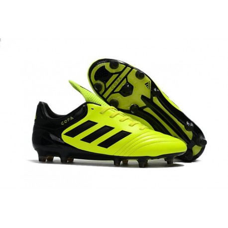 New adidas Copa 17.1 FG Soccer Cleats Yellow Black