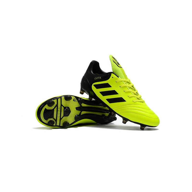 New Adidas Copa 17 1 Fg Soccer Cleats Yellow Black
